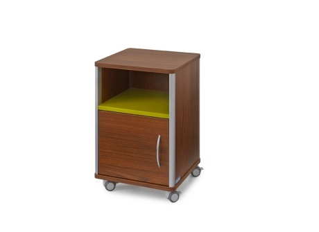 Edison Style Bedside Cabinet - Low