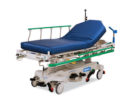 Hill-Rom<sup>®</sup> Procedural Stretcher <br> with IntelliDrive<sup>®</sup> Powered Transport