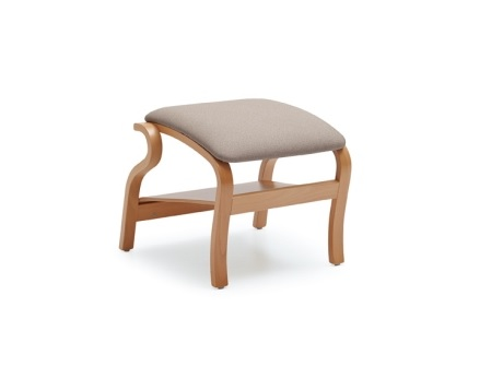 Wood footrest - SB406A Style