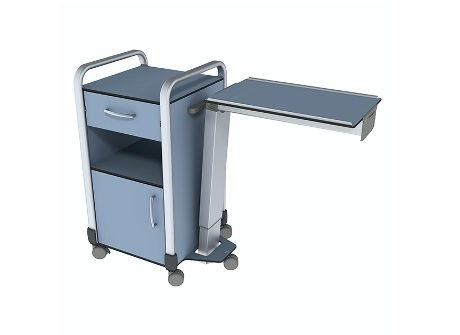 best adjustable table com deluxe this with adjustment feature one touch drawers medical wheels w height reviews tiltable eva drawer overbed
