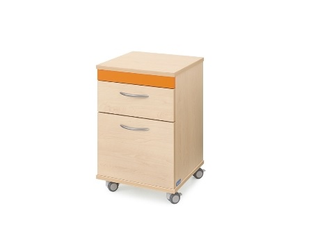 Edison Classic Bedside Cabinet - Low
