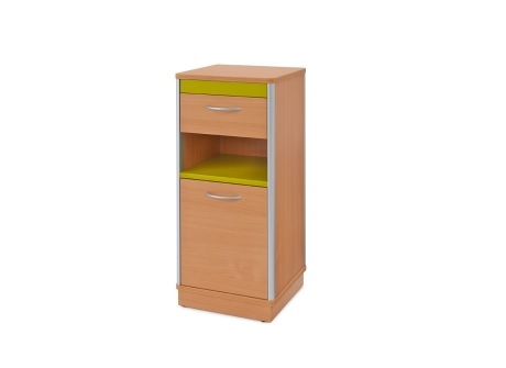 Edison Style Bedside Cabinet - High