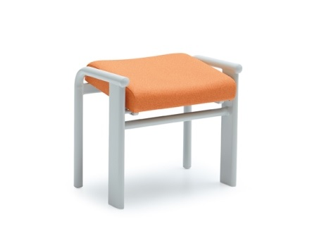 Metal footstool - SM604E