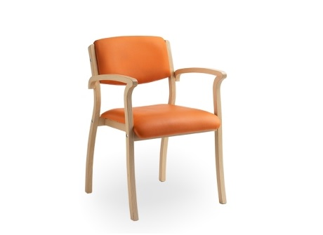 Wood armchair - SB410A Select